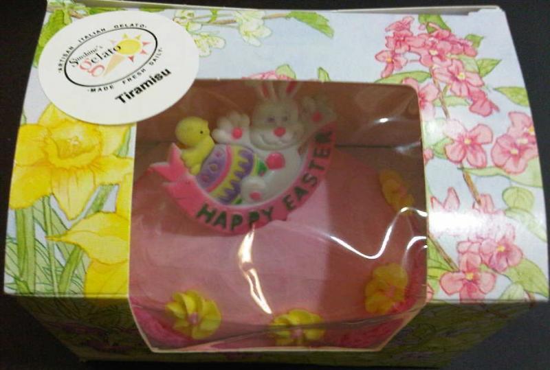 Gelato Easter Egg
